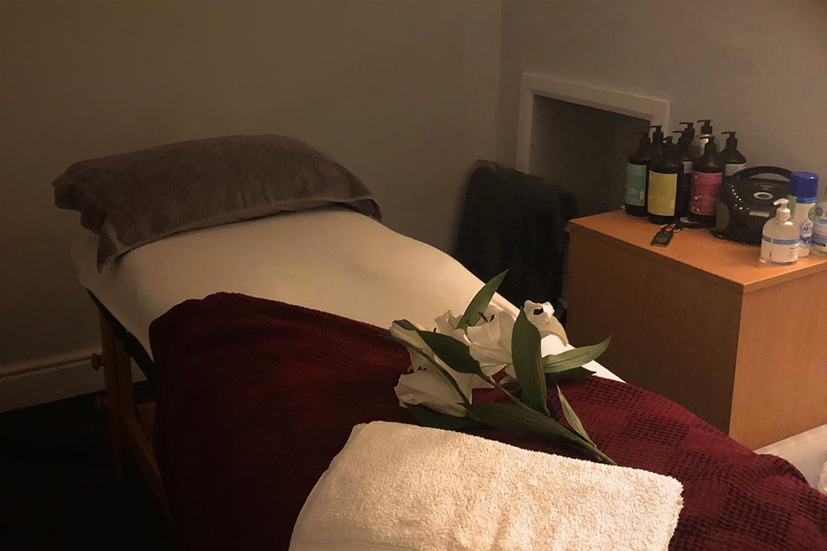 ossett massage room